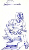 Ancianos - Blue 8x10 / 1997