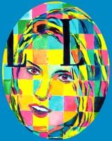 Cindy Crawford 10x14 (oval) / 2000