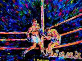 Rocky Marciano 18x14 / 2010