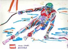 Fritz Strobl, Austria 16x12 / 2002